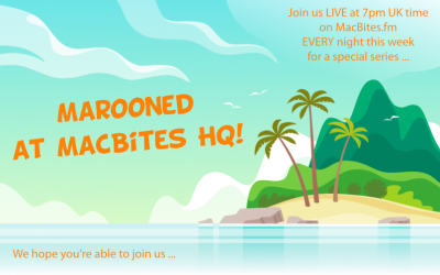 Marooned at MacBites HQ – Day 109
